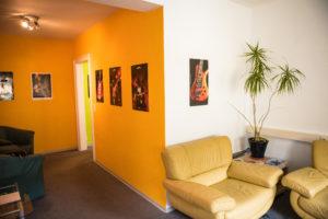 Die Räume der School of Music Kulmbach