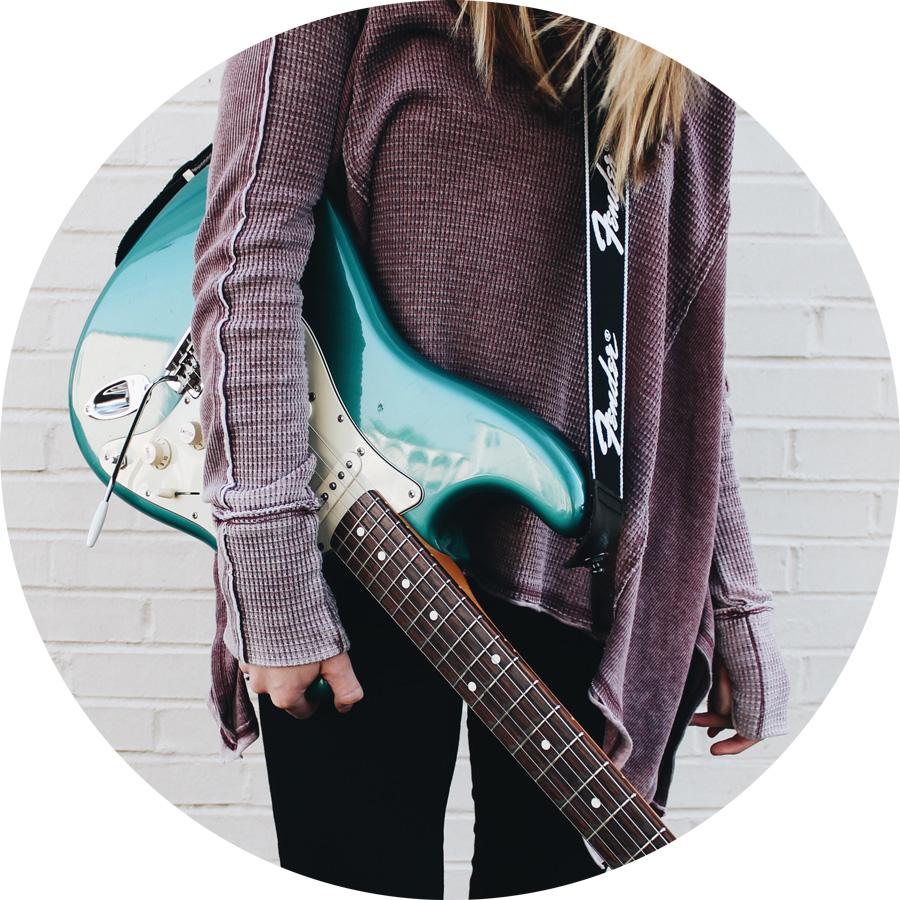 E-Gitarre als Instrument lernen: School of Music Kulmbach